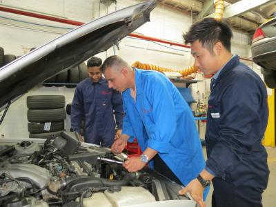 Package: Cert III + Cert IV in Automotive + Dipl of Business